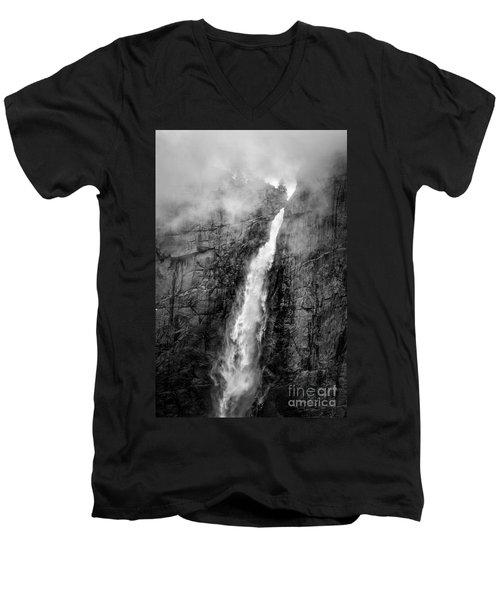 Yosemite Fall Men's V-Neck T-Shirt