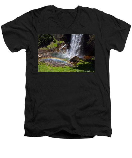Men's V-Neck T-Shirt featuring the photograph Yosemite National Park by Brian Williamson