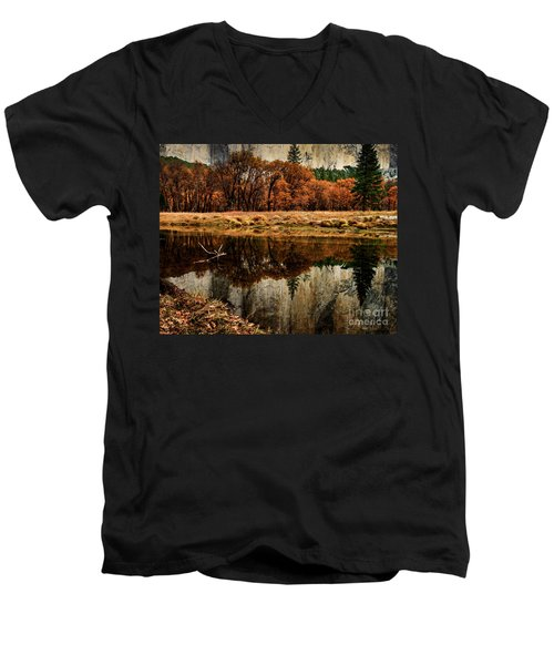 Yosemite Reflections Men's V-Neck T-Shirt