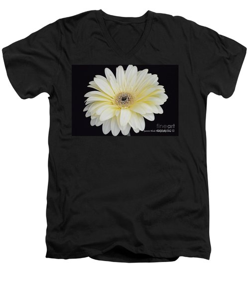 Men's V-Neck T-Shirt featuring the photograph You Are Loved by Jeannie Rhode