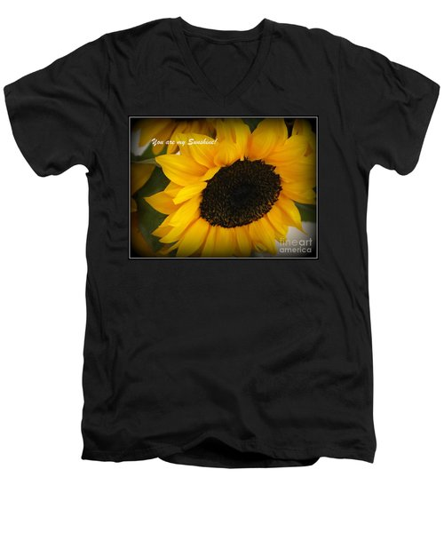 You Are My Sunshine - Greeting Card Men's V-Neck T-Shirt