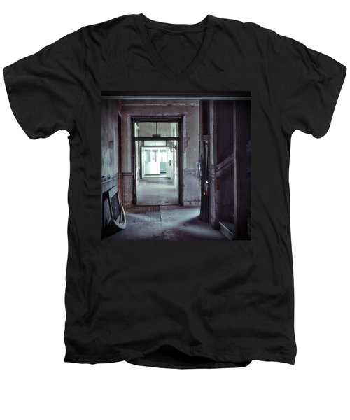 You Go First Men's V-Neck T-Shirt