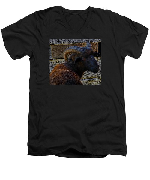 You Talkin Bout Me Men's V-Neck T-Shirt