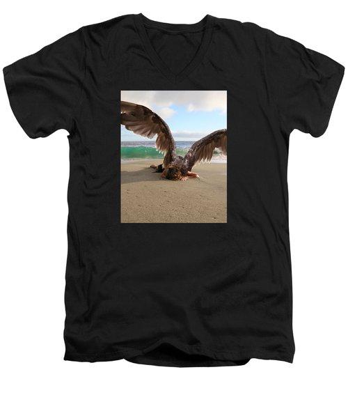 You Will Not All Sleep Men's V-Neck T-Shirt