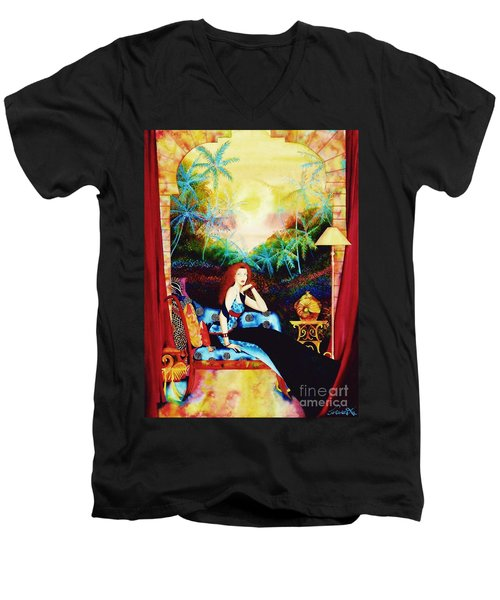 Young Debutante Men's V-Neck T-Shirt