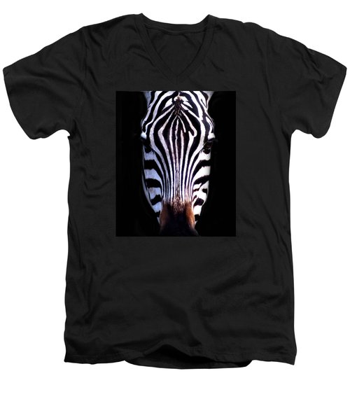 ZEB Men's V-Neck T-Shirt