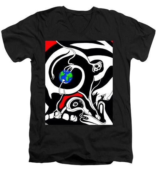 Zero Gravity Men's V-Neck T-Shirt
