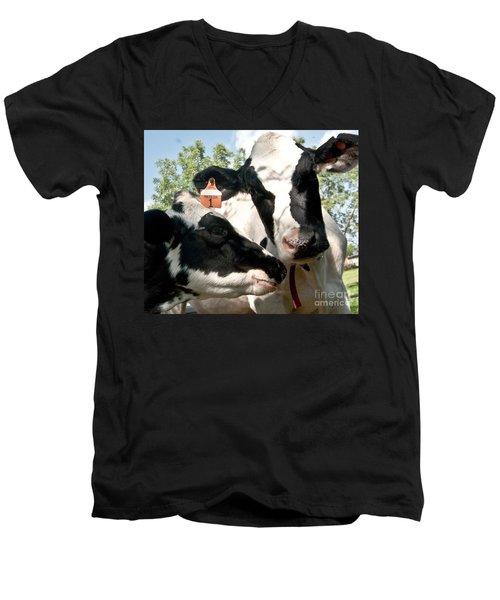Zoey And Matilda Men's V-Neck T-Shirt