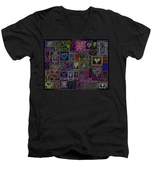 Find U'r Love Found V 3 Men's V-Neck T-Shirt