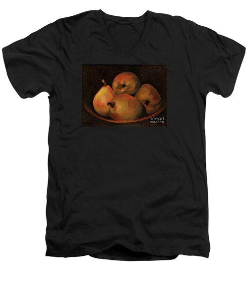 4 Pears Men's V-Neck T-Shirt