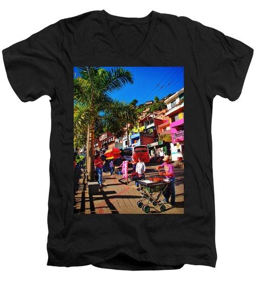 Candy Man Men's V-Neck T-Shirt