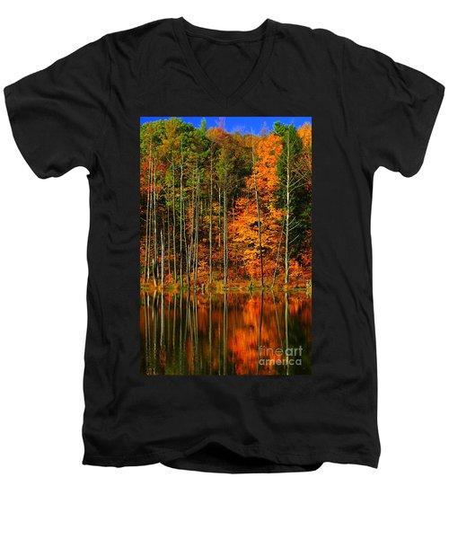 Coxsackie New York State Men's V-Neck T-Shirt