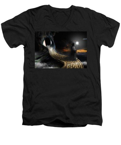 Night Guard Men's V-Neck T-Shirt