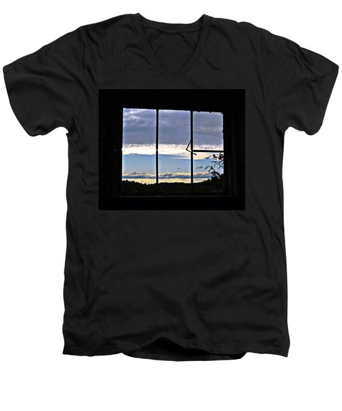 Point Of View Men's V-Neck T-Shirt