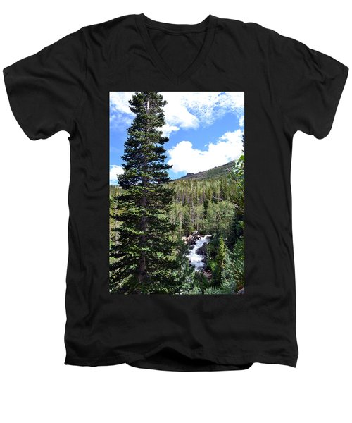 Rocky Mountain National Park2 Men's V-Neck T-Shirt