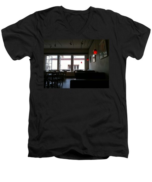 Santa Fe Eatery Men's V-Neck T-Shirt