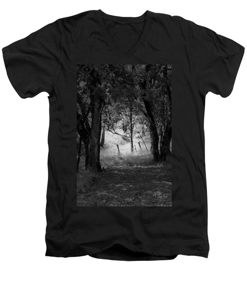 Through The Trees  Men's V-Neck T-Shirt