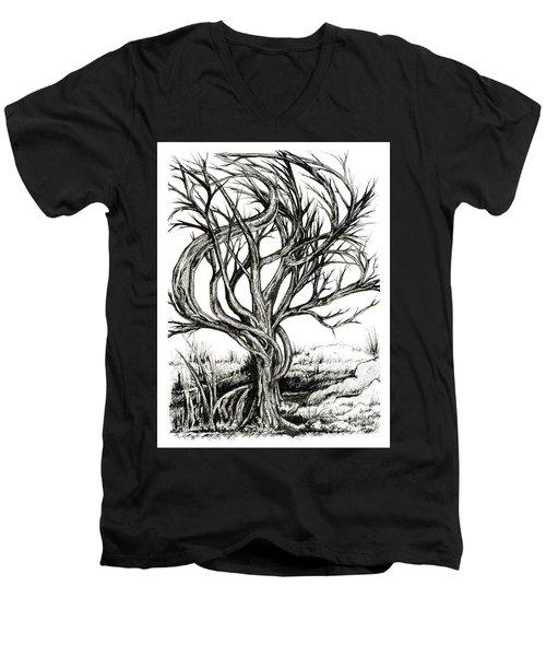 Twisted Tree Men's V-Neck T-Shirt