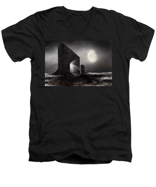 No Title... Men's V-Neck T-Shirt