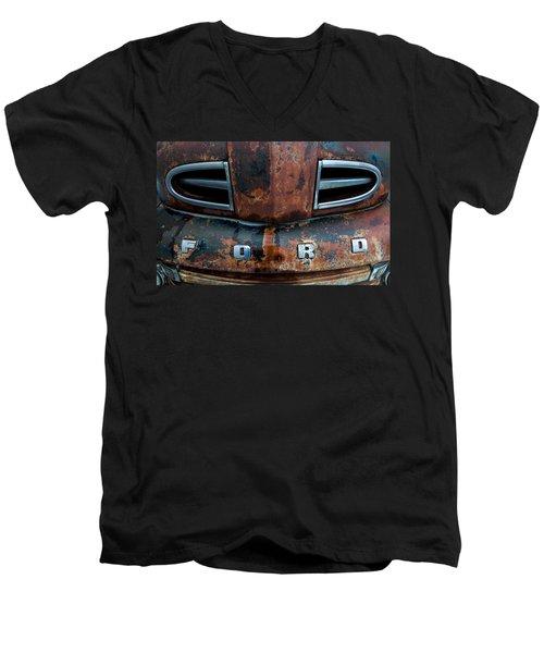 1948 Ford Men's V-Neck T-Shirt