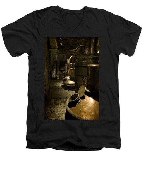 Tequilera No. 1 Men's V-Neck T-Shirt by Lynn Palmer