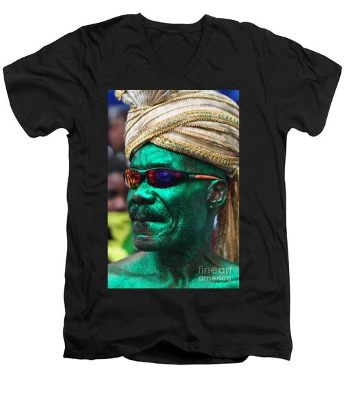 West Indian Day Parade Brooklyn Ny Men's V-Neck T-Shirt