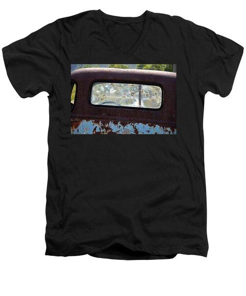 '48 Chevy Men's V-Neck T-Shirt