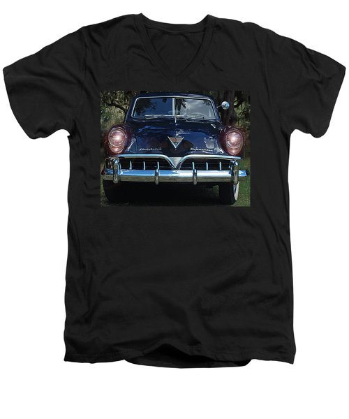 51 Studebaker Commander Men's V-Neck T-Shirt