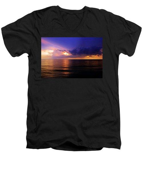 A Drop In The Ocean Men's V-Neck T-Shirt by Melanie Moraga