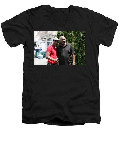 A Friend Bernard Hopkins Men's V-Neck T-Shirt