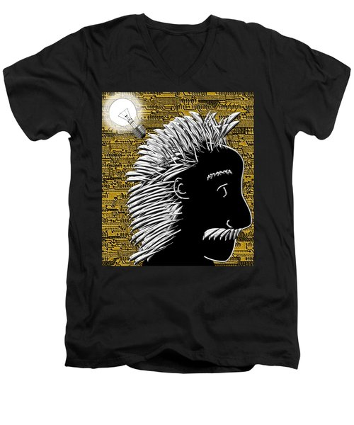 Al's Bright Idea Men's V-Neck T-Shirt