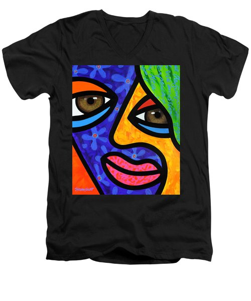 Aly Alee Men's V-Neck T-Shirt