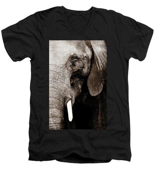 Ancient Face Men's V-Neck T-Shirt