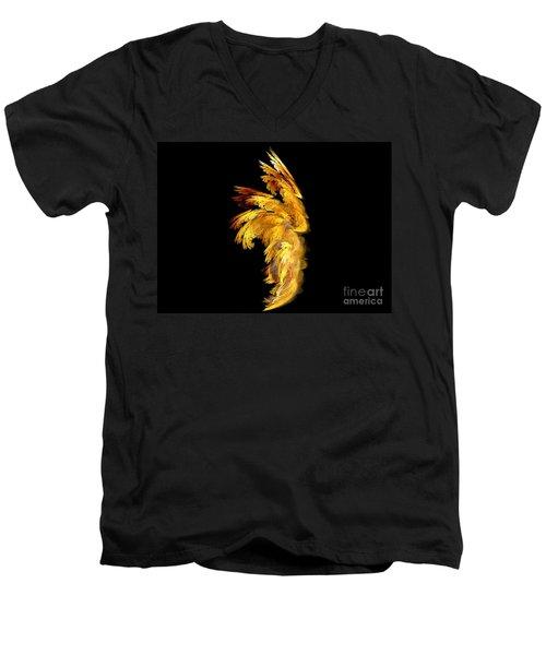 Angel Wings 1 Men's V-Neck T-Shirt