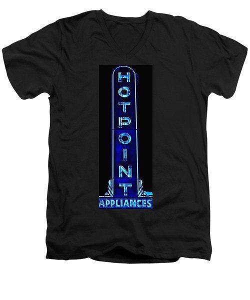 Appliance Sign Men's V-Neck T-Shirt