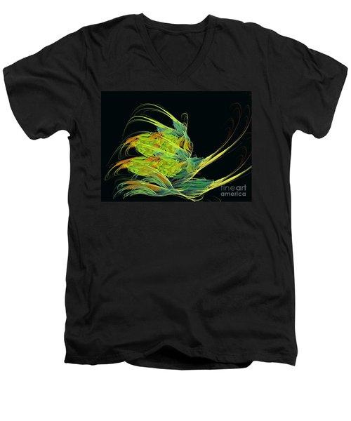 Argonaut Men's V-Neck T-Shirt by Kim Sy Ok