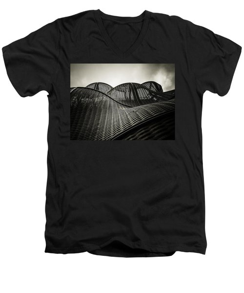 Artistic Curves Men's V-Neck T-Shirt