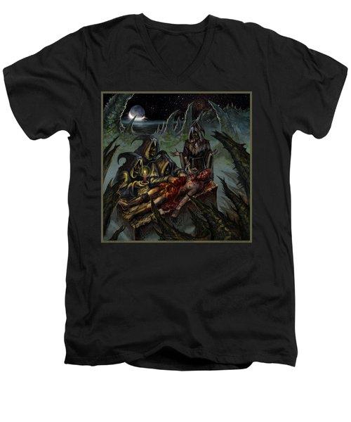 Autopsy Of The Damned  Men's V-Neck T-Shirt