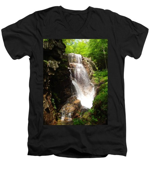 Avalanche Falls Men's V-Neck T-Shirt