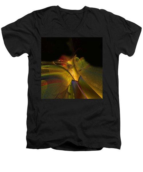 Awakening Men's V-Neck T-Shirt by Julie Grace