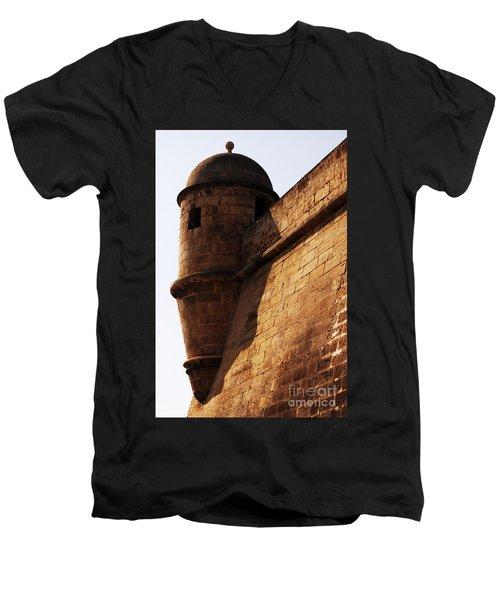 Battlement Men's V-Neck T-Shirt