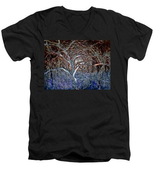 Bb's Tree 3 Men's V-Neck T-Shirt