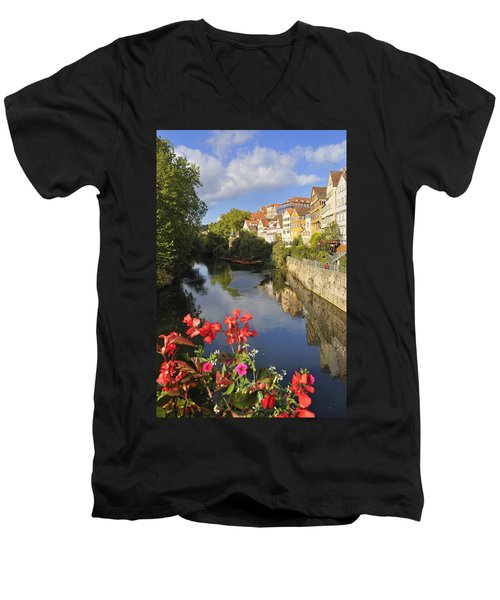Beautiful Tuebingen In Germany Men's V-Neck T-Shirt