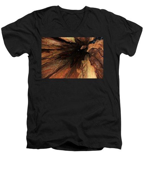 Big Cedar Men's V-Neck T-Shirt
