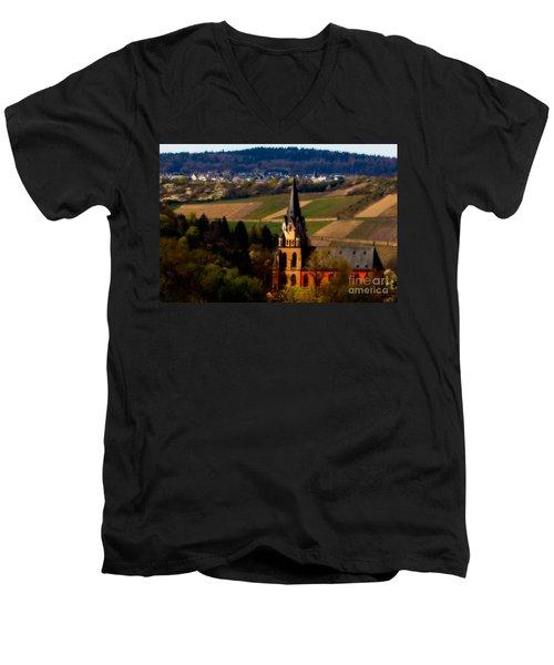 Blessed Vineyard Men's V-Neck T-Shirt
