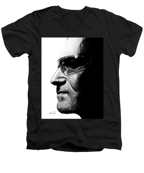 Bono - Half The Man Men's V-Neck T-Shirt
