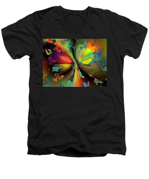 Break Away Men's V-Neck T-Shirt