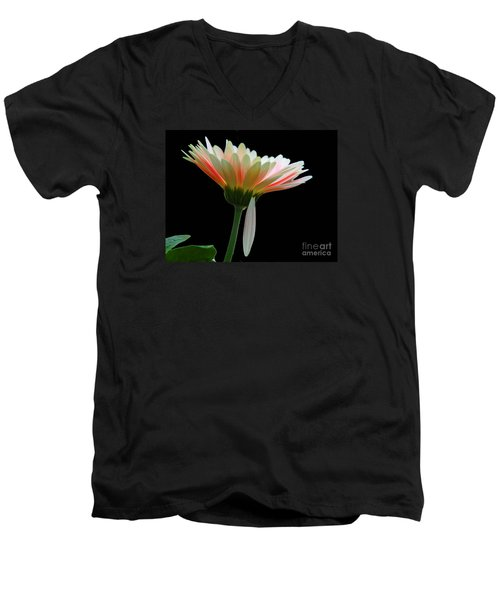 Broken Daisy Men's V-Neck T-Shirt by Cindy Manero