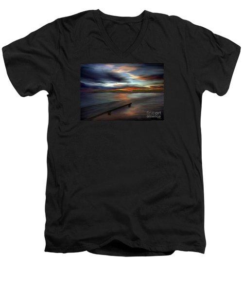 California Sky Men's V-Neck T-Shirt