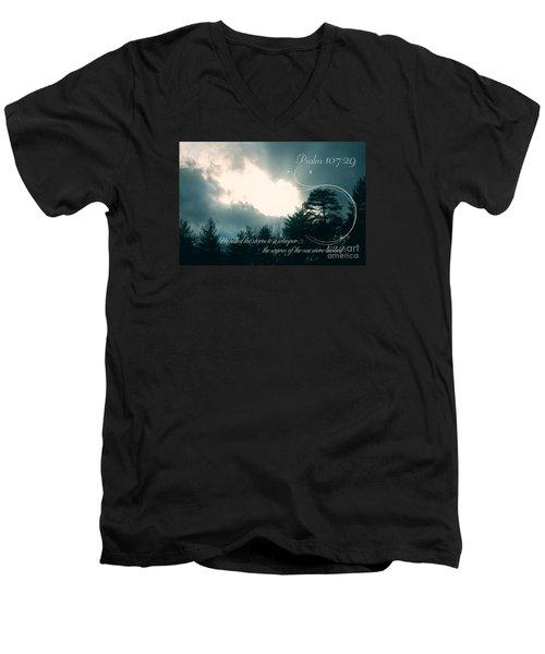 Calm The Storm Men's V-Neck T-Shirt